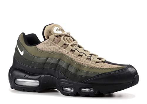 buy popular 0e556 3a31b Nike Air Max 95 Essential Men Black Sequoia Cargo Khaki White 749766-