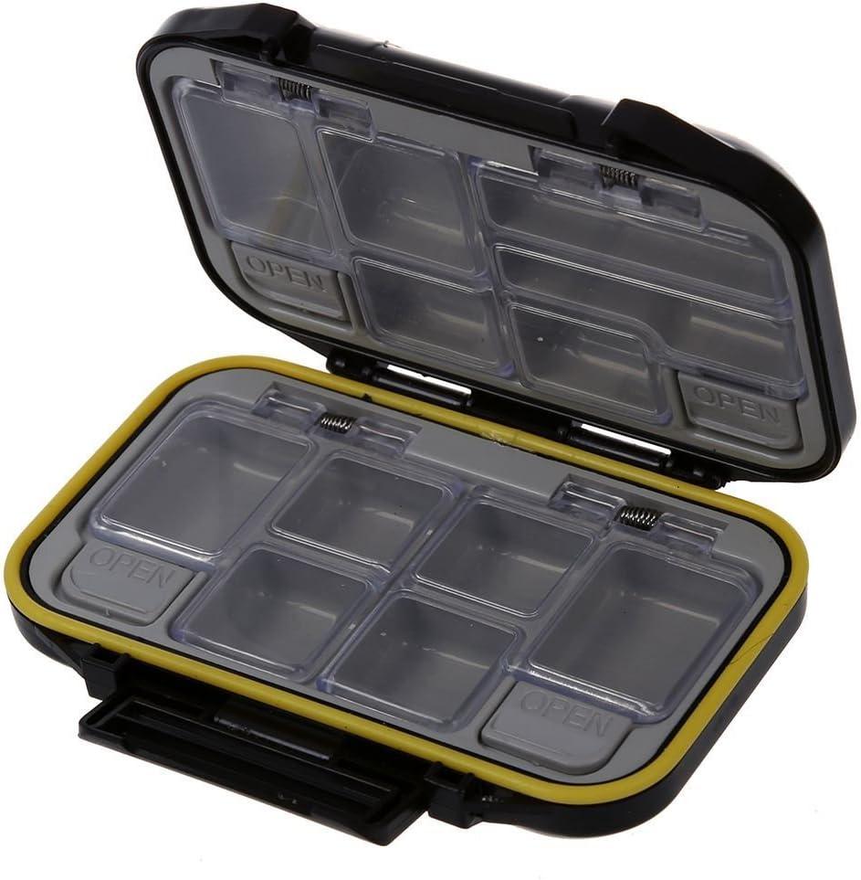 SODIAL(R) Caja para accesorios de pesca Caja para herramientas ...