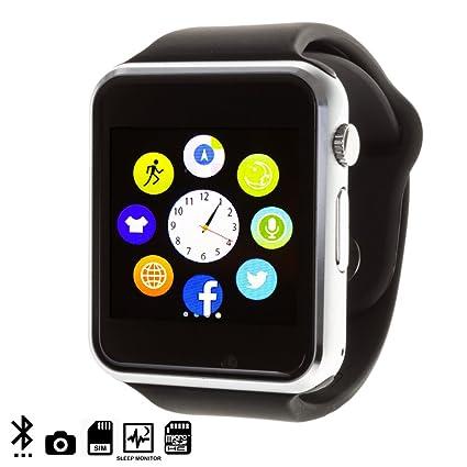 DAM - G08 Smartwatch Black. Cámara integrada. Acepta SIM y micro sd de hasta