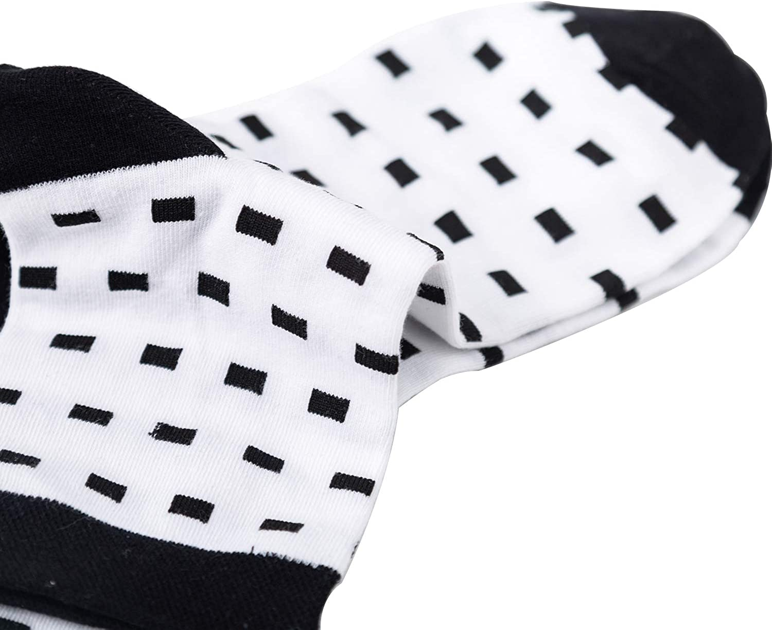 Awesome 360 Womens Casual Socks 5 Pairs Cotton Crew Printed Cute Novelty Colorful Soft Socks