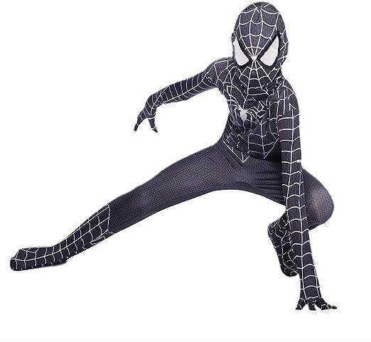 Extraordinaria Ropa De Spiderman Personaje Cosplay Medias Disfraz ...