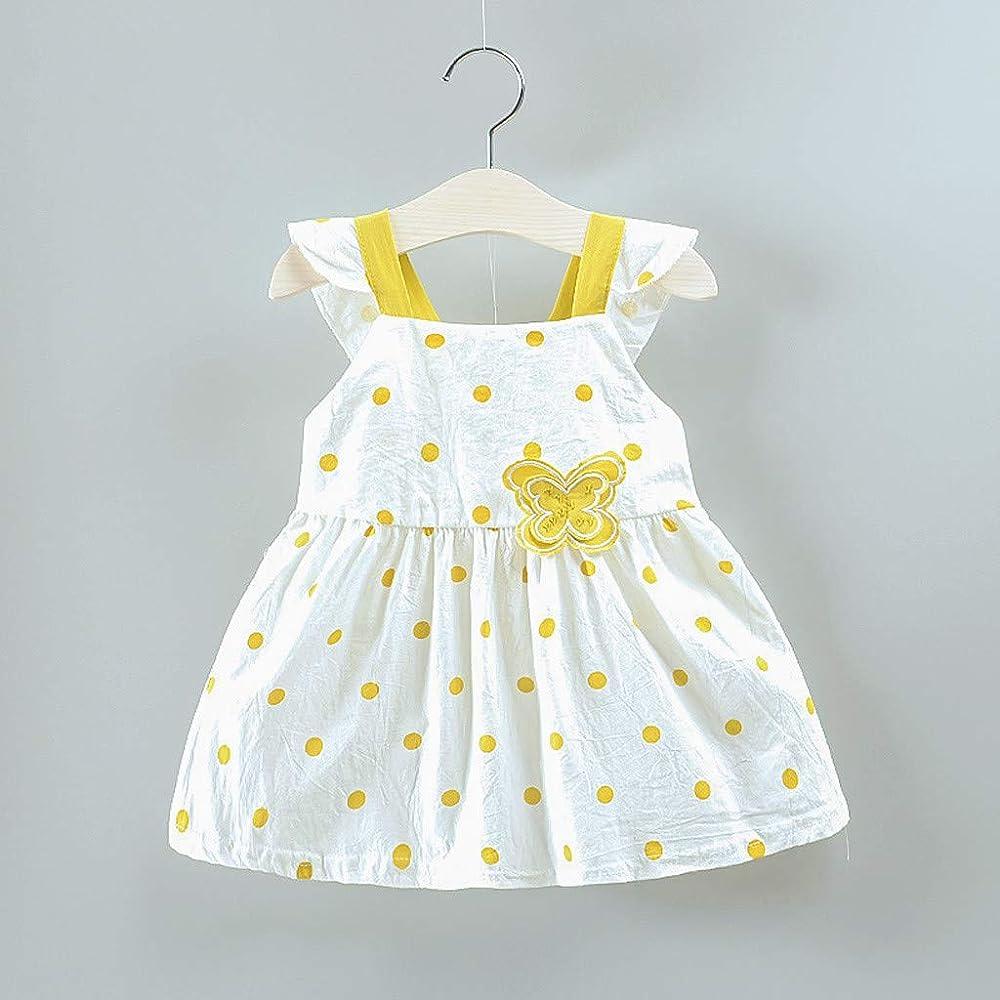 Innerternet-Vestido de niña, 6 Meses-2 años de Edad niñas bebé sin ...