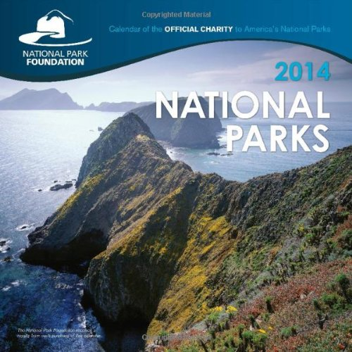 Book cover from 2014 National Parks Wall Calendar by National Parks Foundation