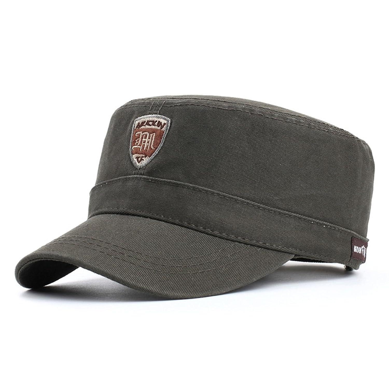 sombrero de los hombres Versión coreana de la moda de la tapa plana Gorra b048e4226f5