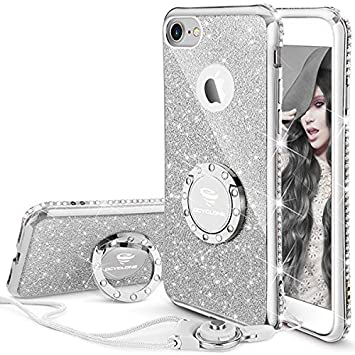 coque iphone 7 glitter