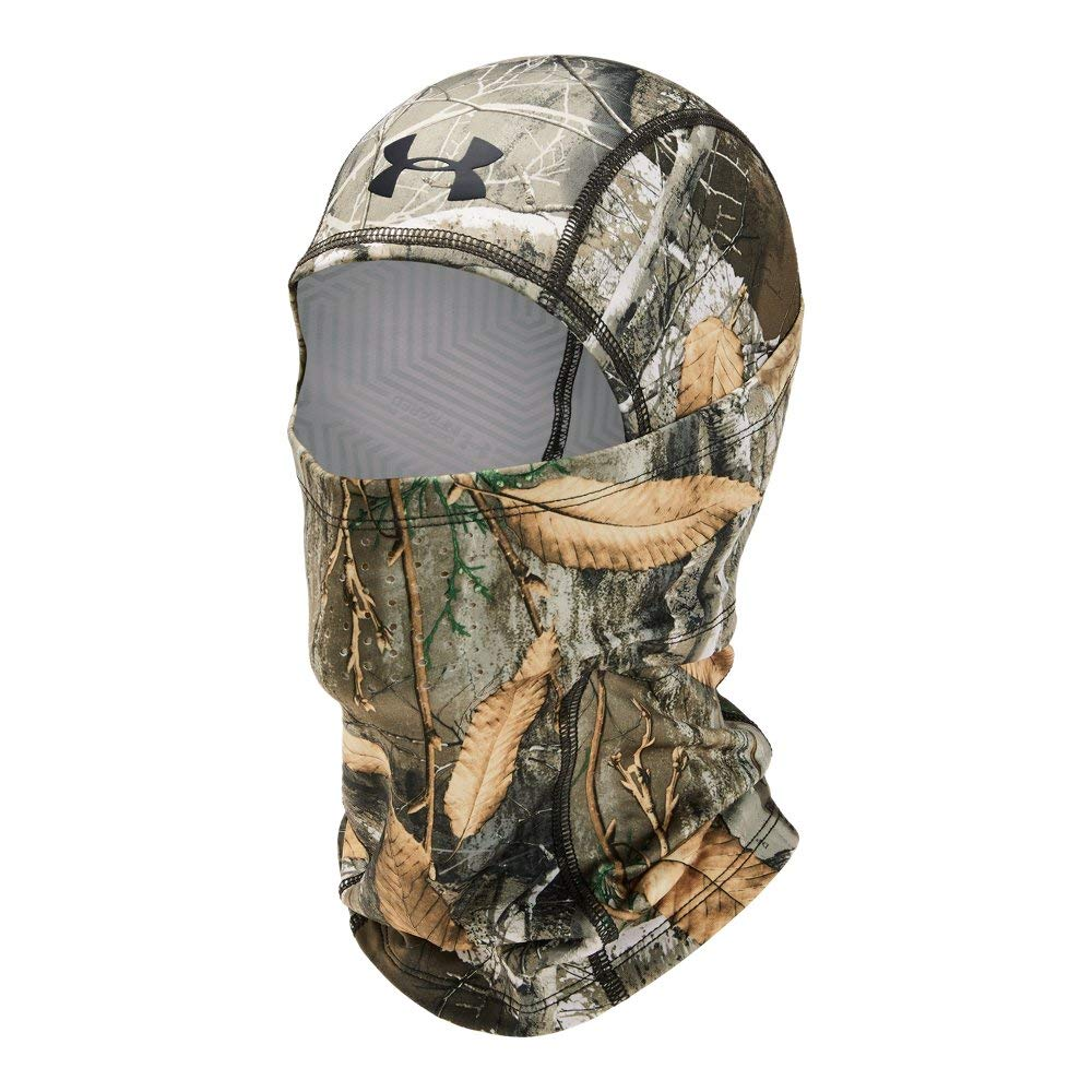 Under Armour Men's Coldgear Infrared Scent Control Hood, Realtree Edge (991)/Black, One Size by Under Armour (Image #1)