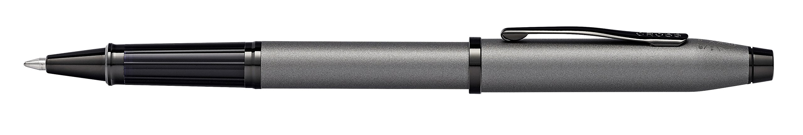 Cross Century II Gunmetal Gray Rollerball Pen with Polished Black PVD Appointments by Cross (Image #3)