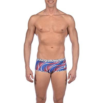 Amazon.com : Arena Men's Spirograph Low Waist MaxLife Reversible Swim Short Swimsuit : Clothing