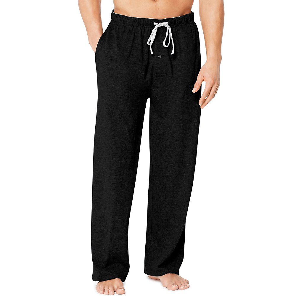 Hanes X-Temp Men`s Jersey Pant with ComfortSoft Waistband, 01101/01101X, M