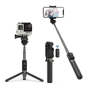 TaoTronics Palo Selfie Tripode para Camara Gopro Movil con Control ...