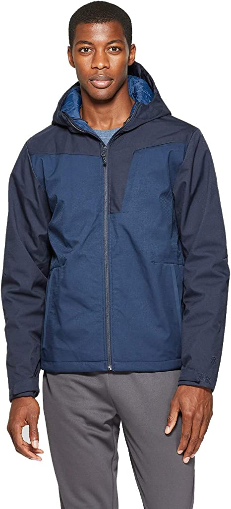 C9 Champion Soft Shell Fleece Jacket Blue Green Black Boys/' New