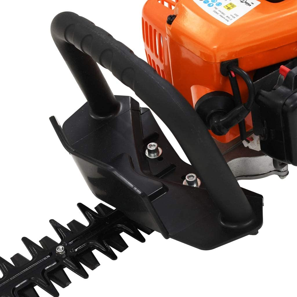 Tidyard Petrol Hedge Trimmer with a cylinder capacity of 26 cc722 mm Orange and Black