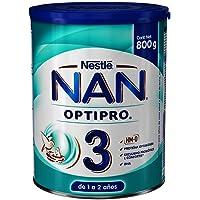 NAN Fórmula Infantil 3 Optipro, 800Gr