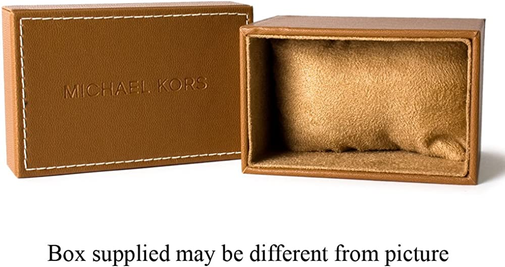 Michael Kors Black Dial Stainless Steel Chronograph Quartz Men s Watch MK9012