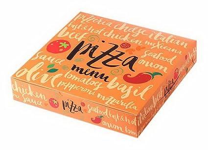 Koala Superstore Pack de 5 Cajas de Pizza 8 Pulgadas Cookie Cake Baking Caja de Embalaje