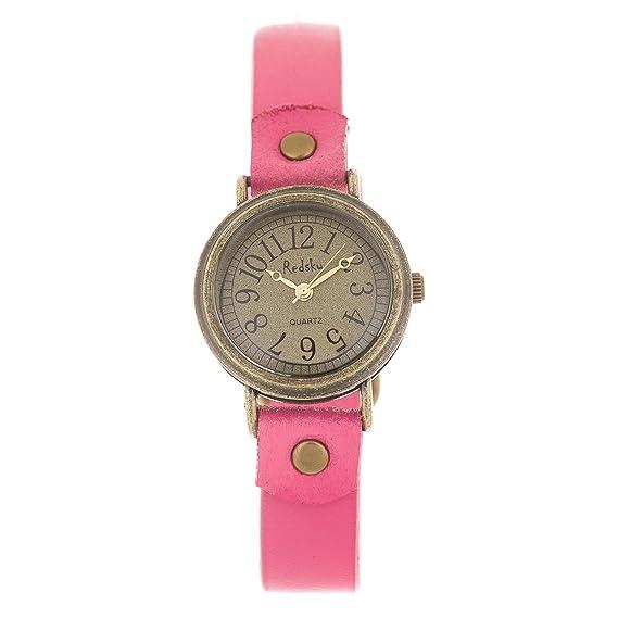 New Reloj de Mujer de Moda G-Style Correa de Cuero Relojes Pulsera Regalo Perfecto