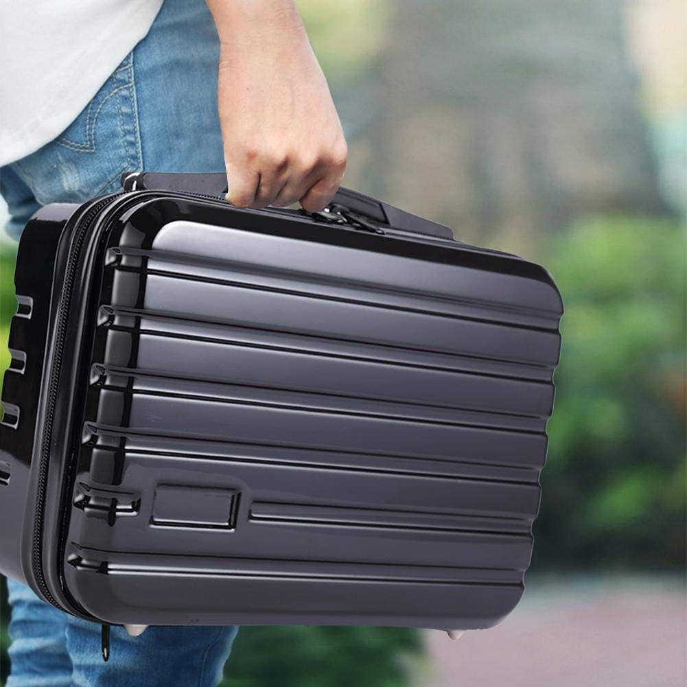 Shengruhua Black Drone Suitcase Large-capacity Multifunctional Storage Bag 27.5 19.5 12.5cm Suitable For DJI Mavic Mini Drone Drone Waterproof And Shockproof Extreme Protection