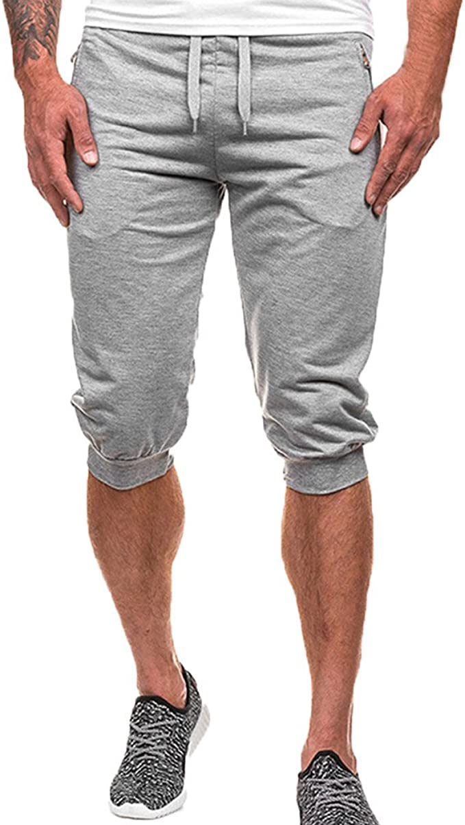 WINJIN Bermuda Short Homme Pantacourt Short