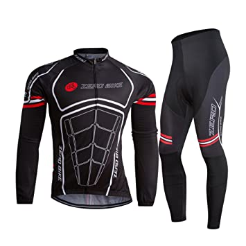 Zerobike Men S Soft Long Sleeve Breathable Bicycle