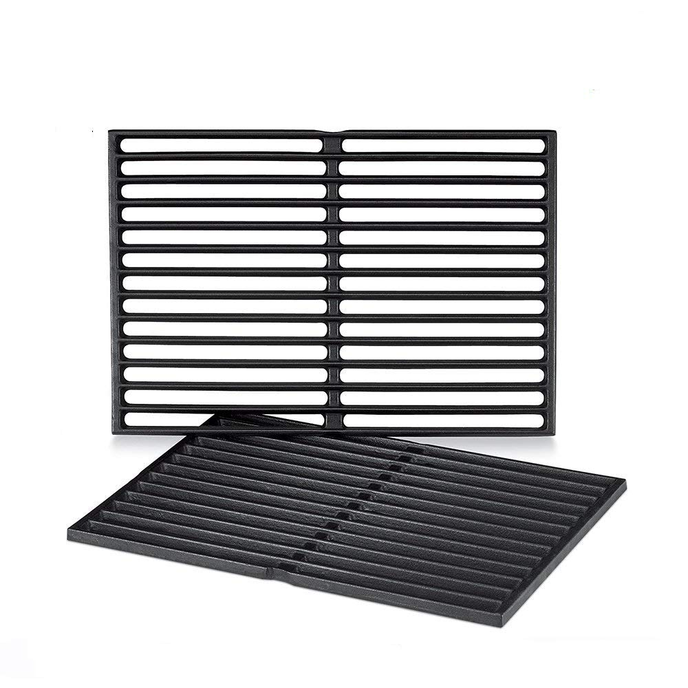 bar. b.q.s 7526 Matte Cast-Iron Cooking Grates for Weber 7526, Fits Weber Spirit 300 series, Spirit 700, Genesis 1000 – 3500 Grills, aftermarket replacements Genesis 1000 - 3500 Grills Bar.B.Q.S