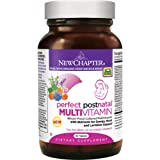 New Chapter Perfect Postnatal Vitamins, Lactation Supplement with Fermented Probiotics + Wholefoods + Vitamin D3 + B Vitamins + Organic Non-GMO Ingredients - 96 ct