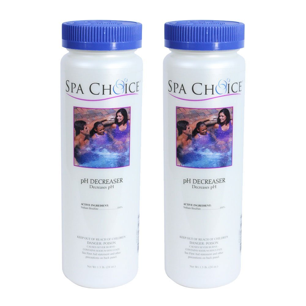SpaChoice 472-3-5061-02 Reduce pH for Spas and Hot Tubs (2 Pack), 1.5 lb by SpaChoice
