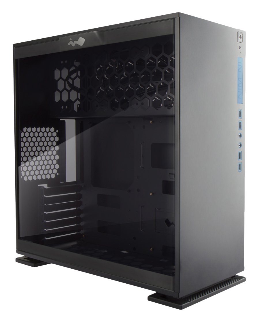 Amazon.com: InWin 303 Black ATX Mid Tower Computer Case with