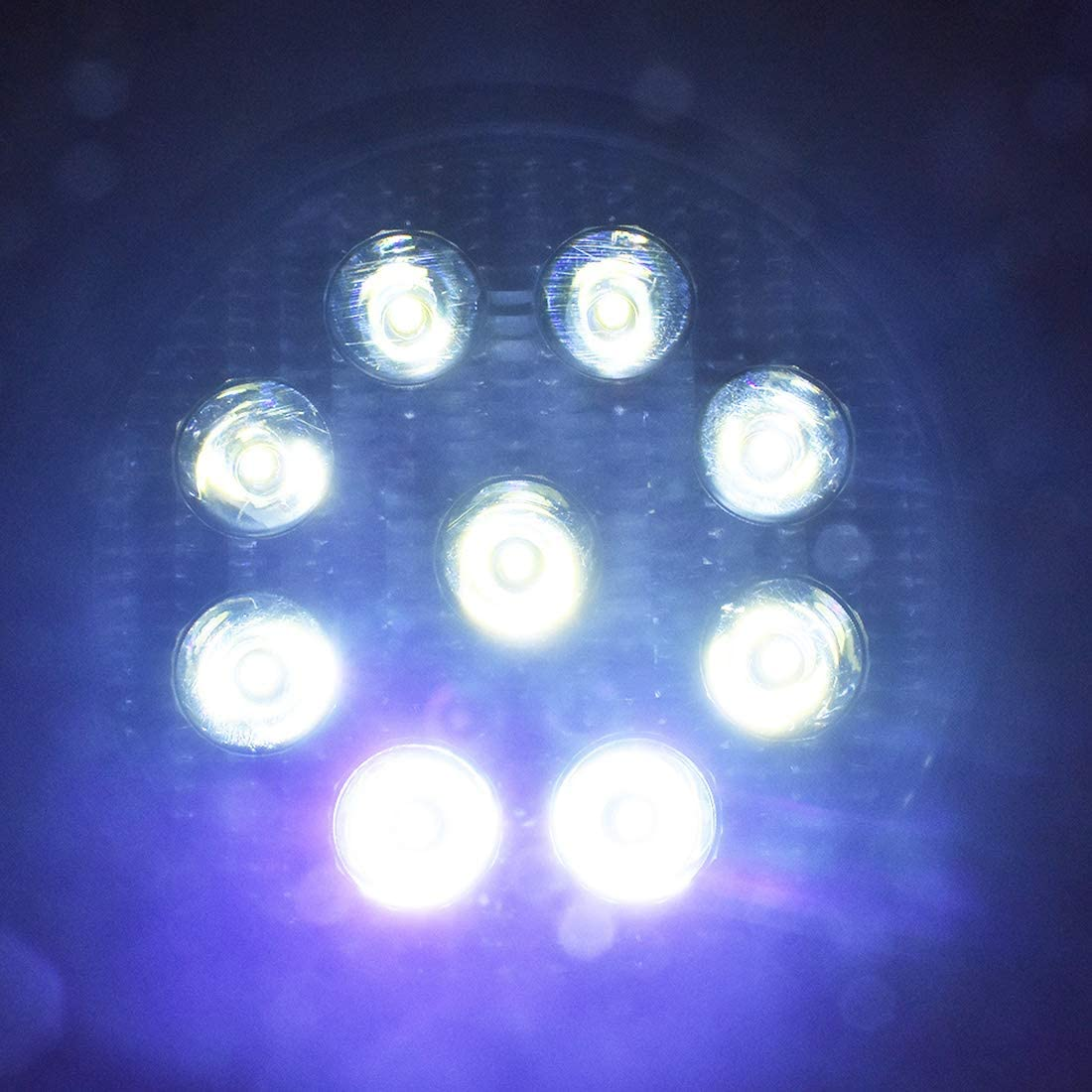 WFLNHB LED Light Bar 20PCS 4Inch 27W Round LED Work Light LED Pod Lights Flood Beam Offroad Driving Lights Fog Light Waterproof Fit for Truck Car ATV SUV Boat 4WD ATV 12V