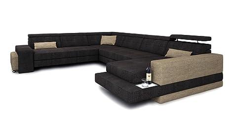Soggiorni land codolo xxl per il divano tessuto divano design