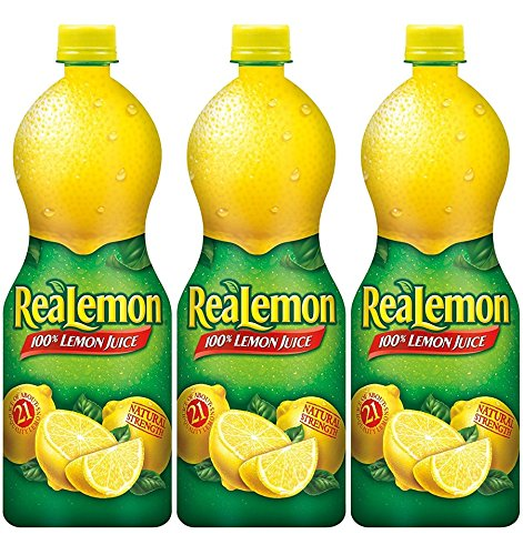 - ReaLemon Lemon Juice - 32 Oz, (Pack of 3)