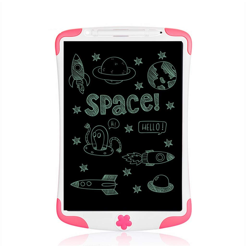 Office Pink, Green 10 Inch Family Light Energy LCD Writing Board//Electronic Blackboard//Painting Graffiti Board//Message Board//Suitable for School