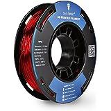 SainSmart Petite bobine Filament 1.75mm TPU Flexible Dimensions 250g, précision de +/-0,05mm 3D, Shore 95A Rouge