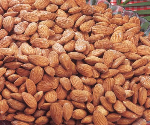 Almond Salted Candy - Roasted Salted Almonds 3 Lb Sealed Clear Bag