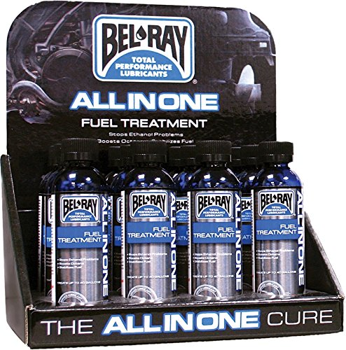 moto-heaven Bel-Ray All In One Fuel Treatment 4Oz 12/Display 840-2212
