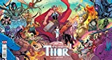 Mighty Thor #1 (Newbury Comics Chris Stevens Exclusive Connecting Variant Cover)