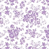 Con-Tact Brand Creative Covering Self-Adhesive Shelf and Drawer Liner, 18-Inches by 9-Feet, Toile Lavender