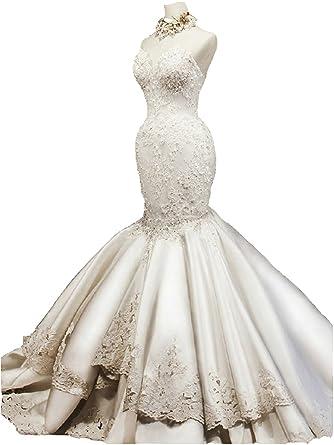 Corset Mermaid Wedding Dresses