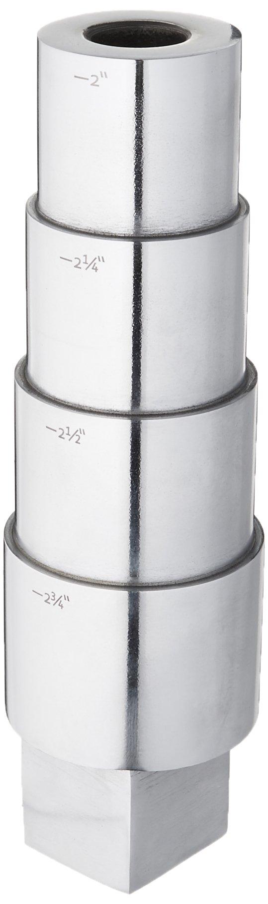 SE 9'' Oval Stepped Bracelet Mandrel with Tang by SE