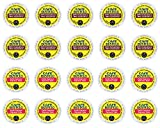 Cafe Bustelo - Espresso & 100% Colombian K-cup Sampler Pack for Keurig 2.0 - 20 Count/2 Varieties
