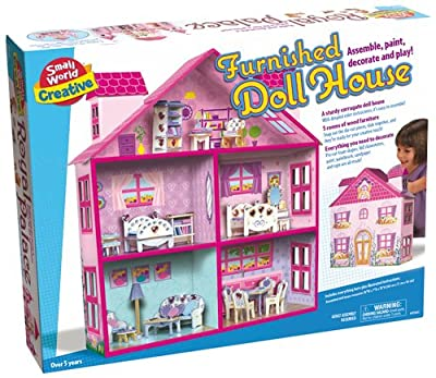 Creative Toys Furnished Doll House from Creative Toys