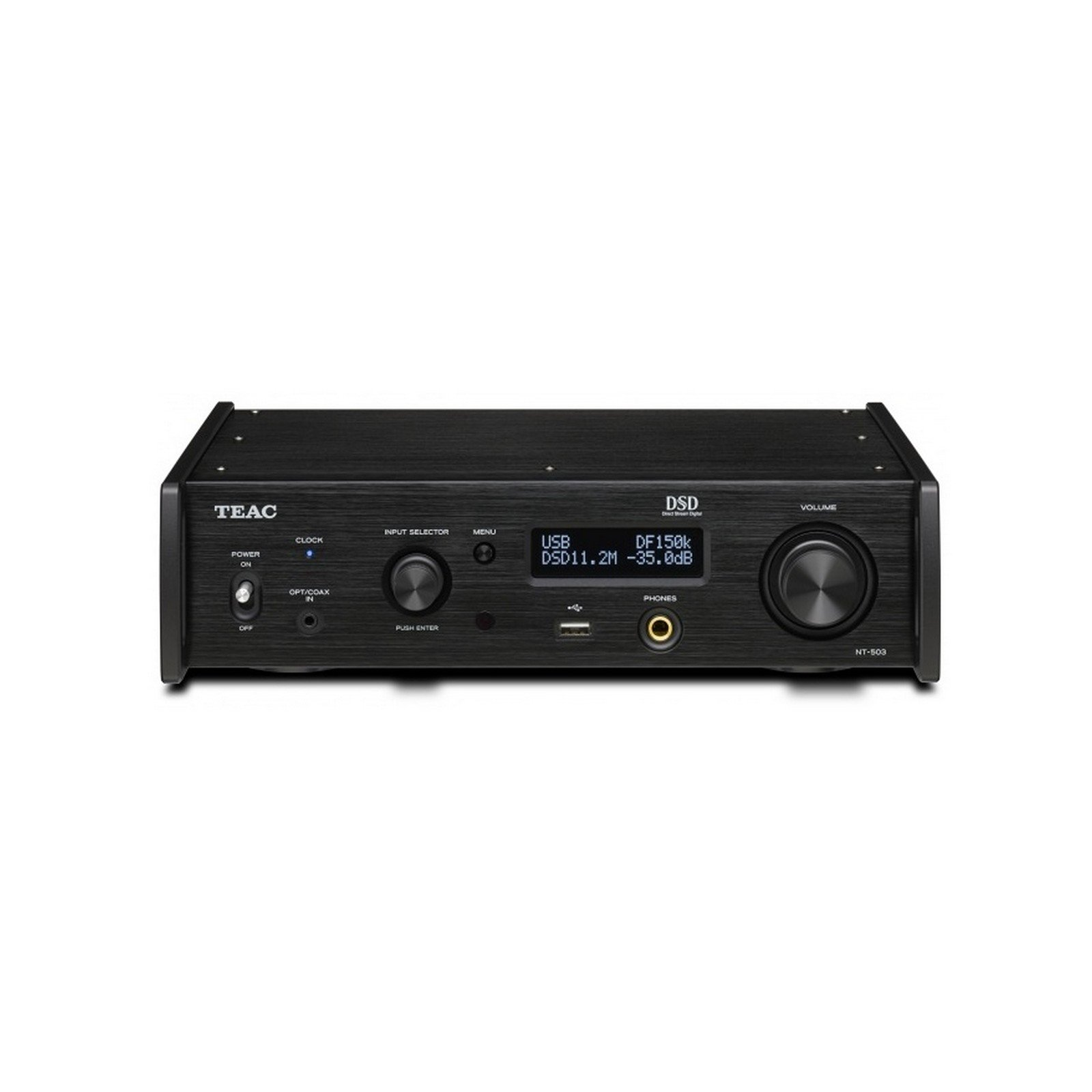 Teac NT-503-B | Dual Monaural USB DAC Bluetooth Network Player Black by Teac (Image #1)