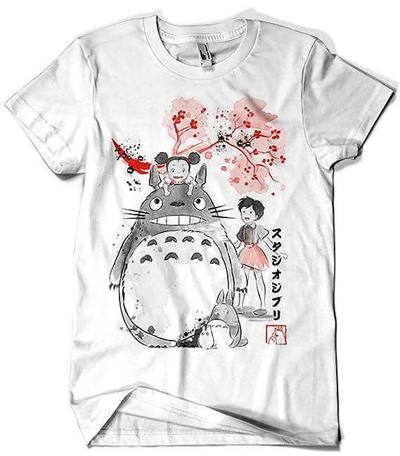 Camisetas La Colmena 3467-My Neighbor Sumi-e (Dr.Monekers): Amazon.es: Ropa y accesorios