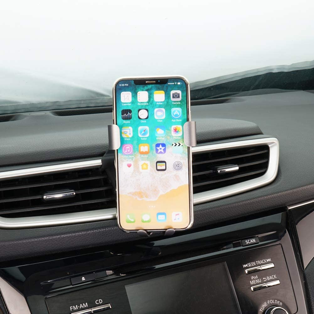 Phone Holder for Nissan Murano,Air Vent Phone Holder,Car Holds Mount for Nissan Murano 2017 2018 2019,Car Phone Mount for iPhone 7 iPhone 6s iPhone 8,for Samsung,Smartphone for 4.7//5 in