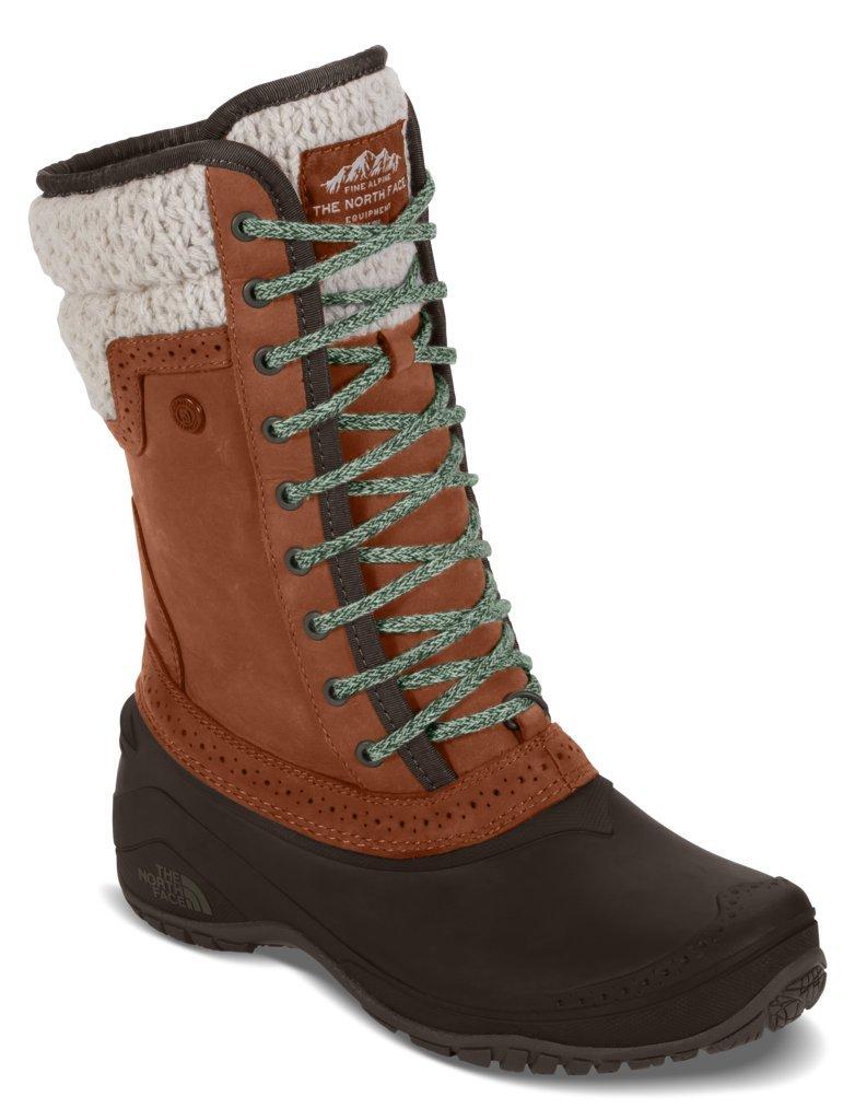 The North Face Womens Shellista II Mid Boot - Dachshund Brown/Demitasse Brown - 8.5