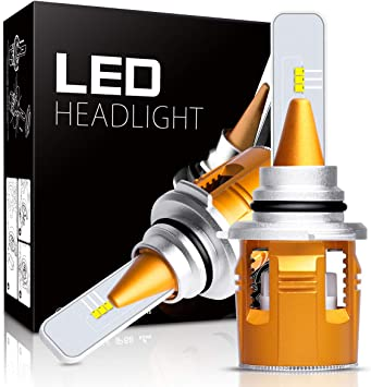 Pack of 2 ECCPP H7 LED Headlight Bulb Hi//Lo Beam White Fog Lights Conversion Kit 3 Year Warranty 80W 6000K 10400Lm