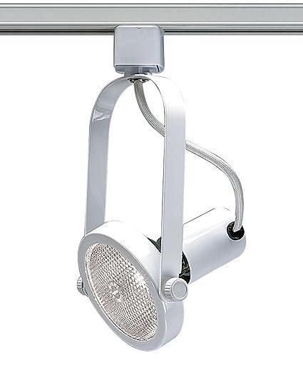 nuvo lighting th224 gimbal ring track lighting heads amazon com