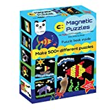 Play Panda Magnetic Puzzles : Circles - Includes 400 magnets, 100 puzzles, magnetic board, display stand