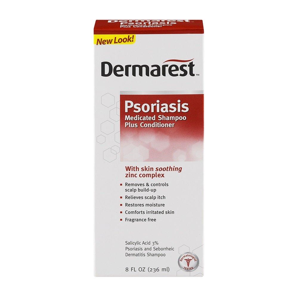 Dermarest Psoriasis Shampoo and Conditioner, 8 fl. oz. (Pack of 6)