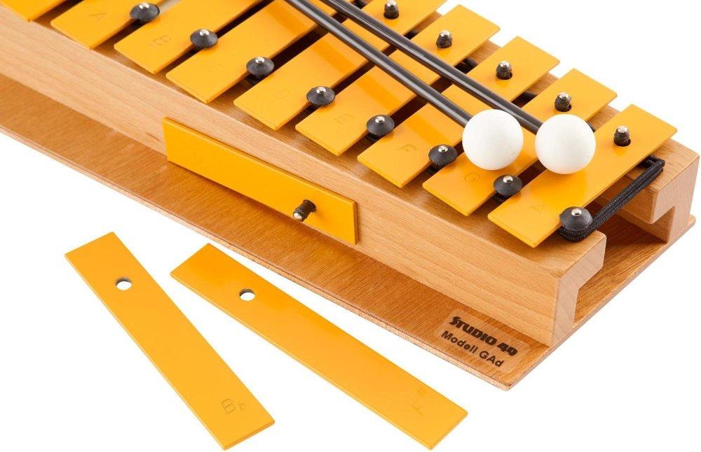 Studio 49 Series 1600 Orff Glockenspiels, Diatonic Alto Unit Only, Gad by Studio 10 (Image #6)