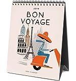 Rifle Paper 2018 Bon Voyage Desk Calendar